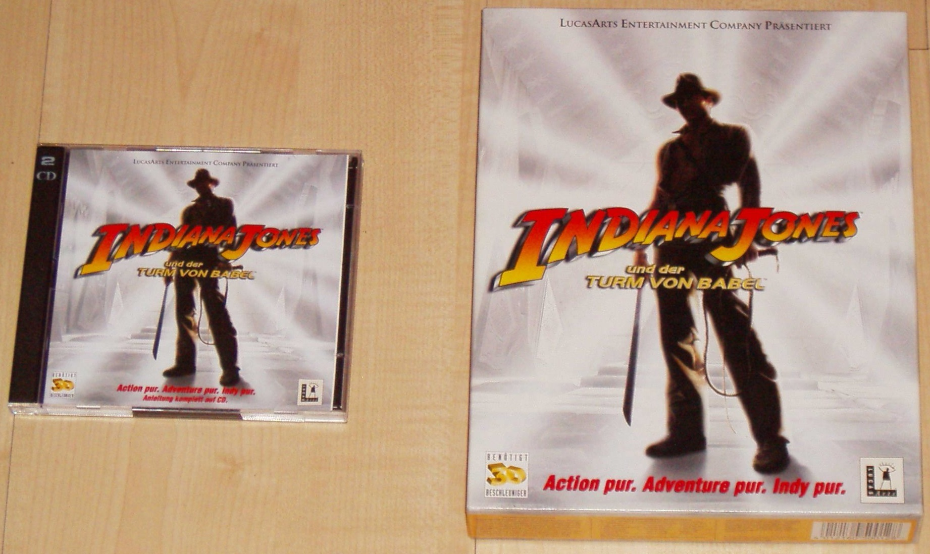 20160818120856 Indiana Jones u. der Turm von Babel EuroBox Software Pyramide 1