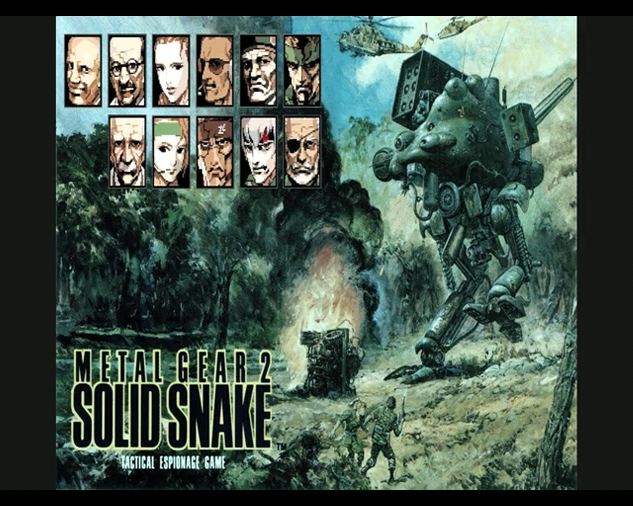 Metal Gear Nes Wallpaper More Powerful Metal Gear